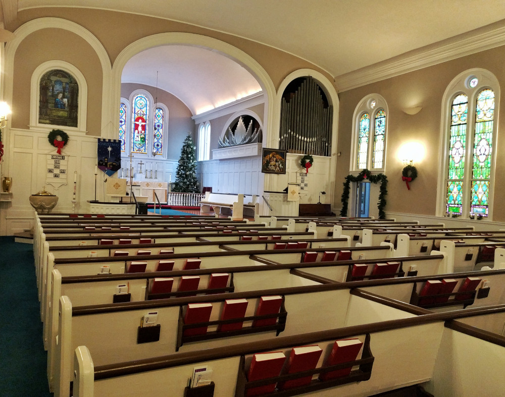 Saint Michael's Lutheran Church - Pews
